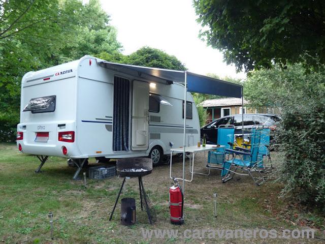 Foto de la caravana Adria Altea en Camping La Bretèche | caravaneros.com