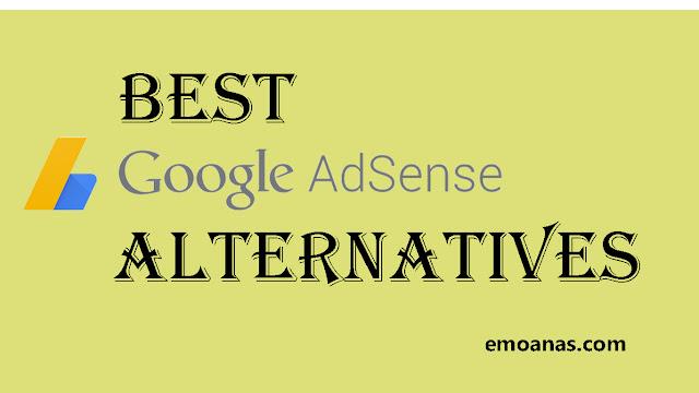 Best Google Adsense alternatives.