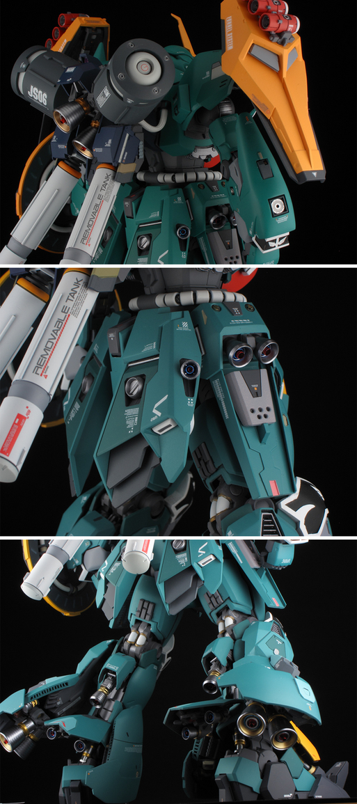Custom Build: MG 1/100 JAGD SINANJU [19th All Japan Ora-Zaku Championships]