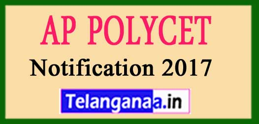 AP POLYCET Notification 2018