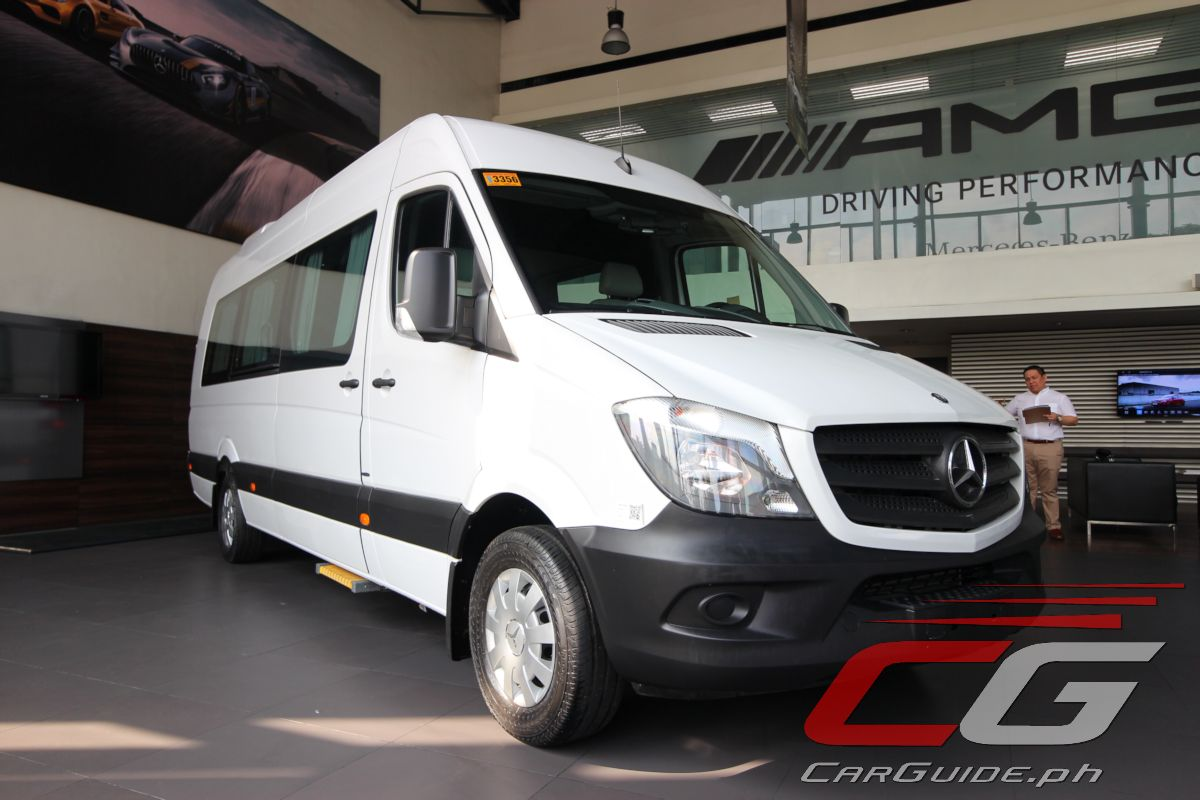 Mercedes-Benz Philippines Offers First-Class Travel with Sprinter Luxury Coach (w/ Brochure ...