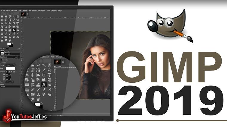 Como Descargar GIMP en Español ULTIMA VERSIÓN 2019 FULL ESPAÑOL