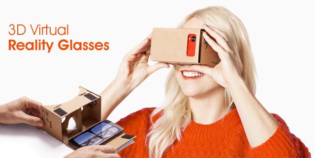 3D Virtual Reality Glasses