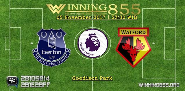 Prediksi Akurat Everton vs Watford | 05 November 2017