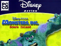 Monsters INC Scare Island Game