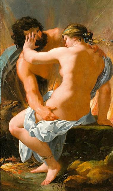 Francois Perrier - Zeus e Semele - arte - erotismo - abusi