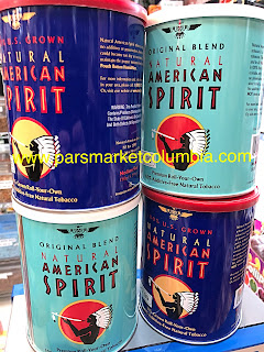 American Spirit Original Blend Tobacco In Pars Market  9400 Snowden River Parkway Columbia Maryland 21045.
