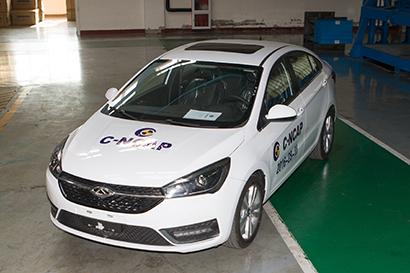 Arrizo 5 foi testado pelo NCAP da China, e obteve 5 estrelas