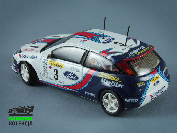 AUTOart Ford Focus RS WRC 01 Rallye Monte-Carlo 2001