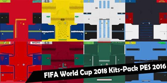 باك اطقم منتخبات كاس العالم 2018 لبيس 2016 بأخر تحديث