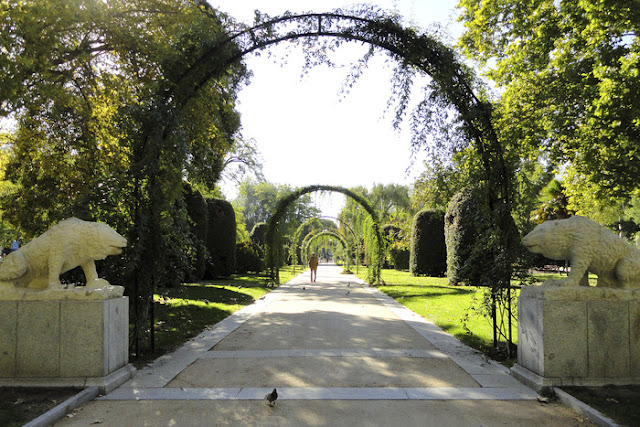 Jardines del Arquitecto Herrero Palacios em Madri