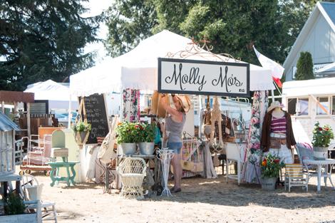 Molly Mo's Summer Antique Faire, Sublimity, Oregon