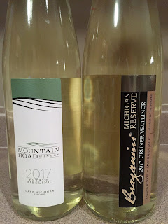 St. Julian Moutain Road Riesling and Gruner Veltliner