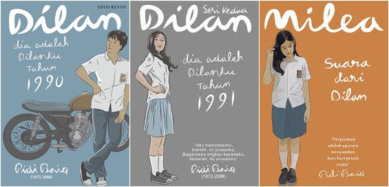 Download Novel Dilan 1990, 1991 & Milea (1, 2, 3 Full) EBOOK PDF