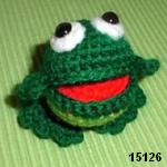 patron gratis rana amigurumi, free pattern amigurumi frog