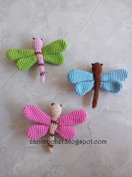 Dragonfly Revised Zan Crochet