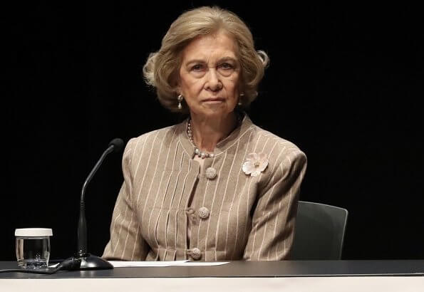 Queen Sofia of Spain presided over the opening ceremony of VIII National Alzheimer Congress organized by CEAFA