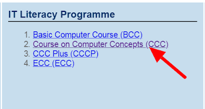 How To Check CCC Result