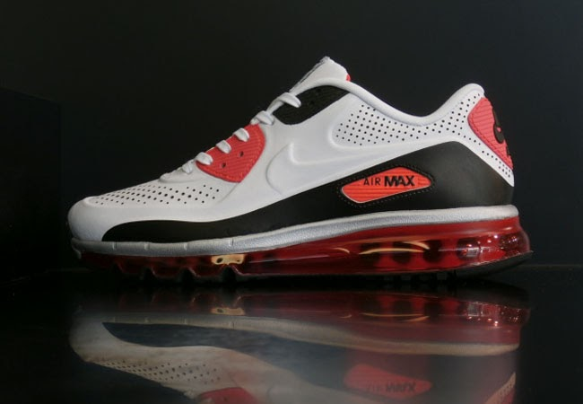 "hot sale online bb2e0 388d5 Nike Air Max 90 2014 Leather QS ""Infrared"""