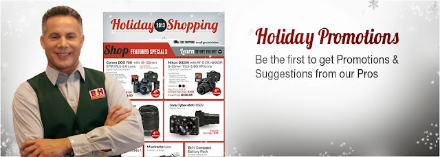 Holiday Shoping - Holisay Promotions của BH Media Camera