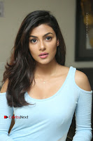 Anisha Ambrose Latest Pos Skirt at Fashion Designer Son of Ladies Tailor Movie Interview .COM 1175.JPG