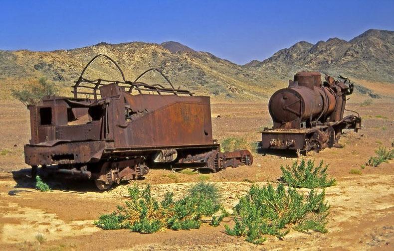 El ferrocarril abandonado de Hejaz | Arabia Saudita