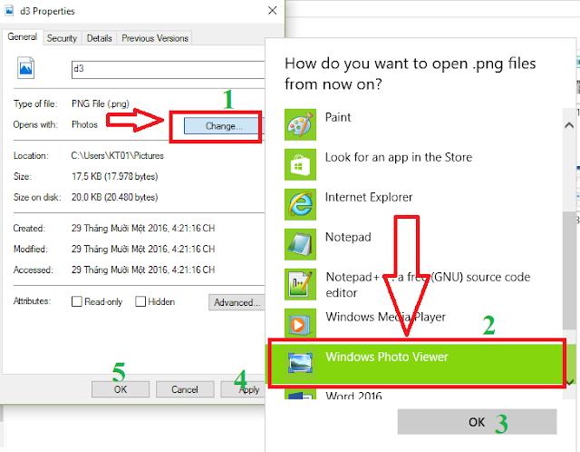 Cài đặt mở mặc định các ứng dụng, phần mềm trên Windows 10