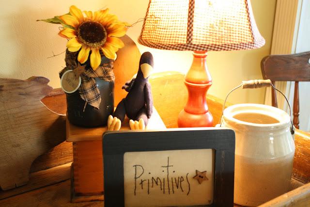 primitives, check lamp