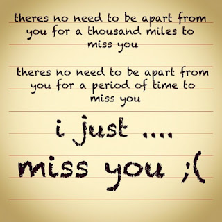 i just missing you quote