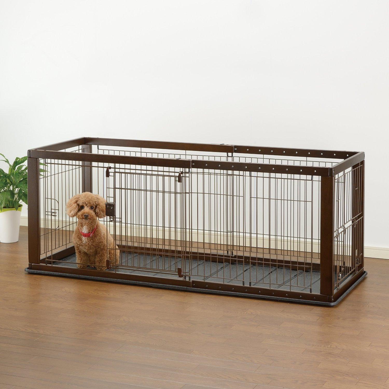 Wire Dog Crate Can Be Made Into Modern Coffee Table Kennel For Less