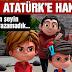 TRT'NİN ÇİZGİ FİLMİ'NDE ATATÜRK'E HAKARET !