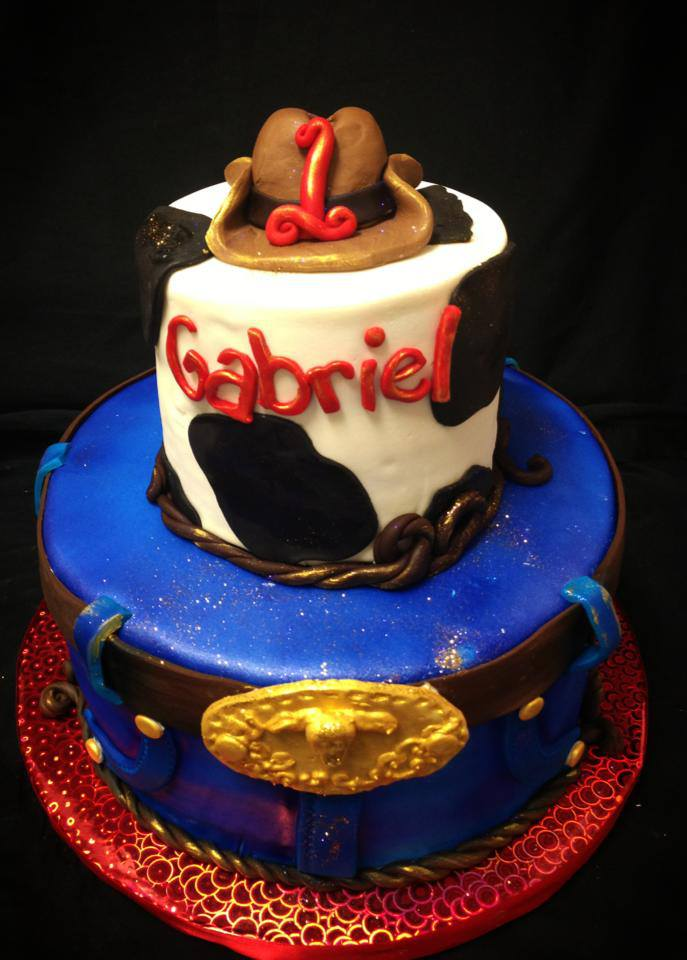 Baking With Roxana S Cakes Cowboy Themed Birthday Cake