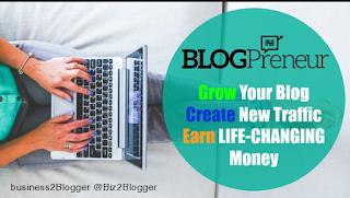 ialah wirausahawan dengan ngeblog alias menghasilkan uang melalui blogging Cara Menghasilkan Uang dari Blog - Tips Menjadi Blogpreneur Sukses