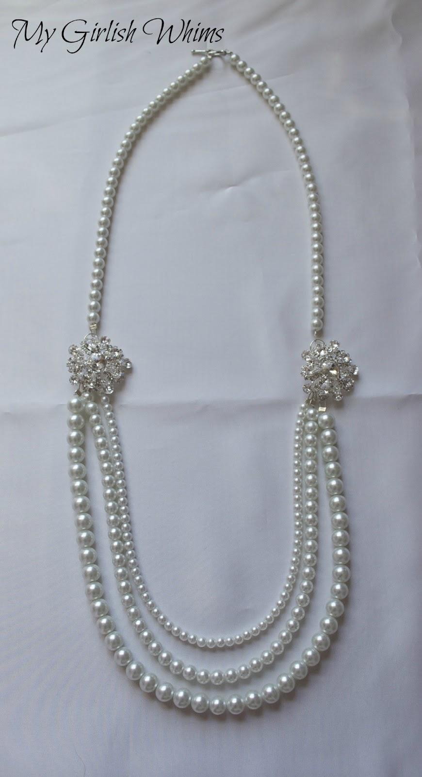 Elegant Pearl Wedding Necklace DIY with David Tutera ...