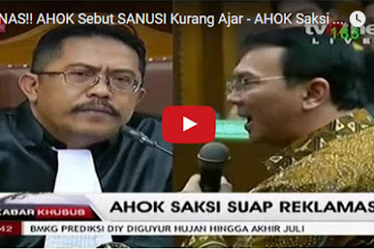 "Video: Dicecar KPK, Ahok Panas dan Umbar Kata-kata ""Kurang Ajar"""