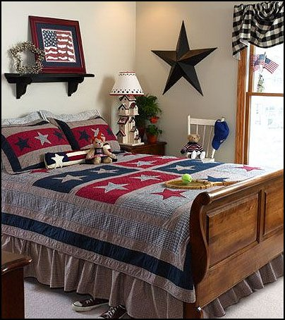 Primitive Americana Decorating Style on ideas for wall art in kitchen