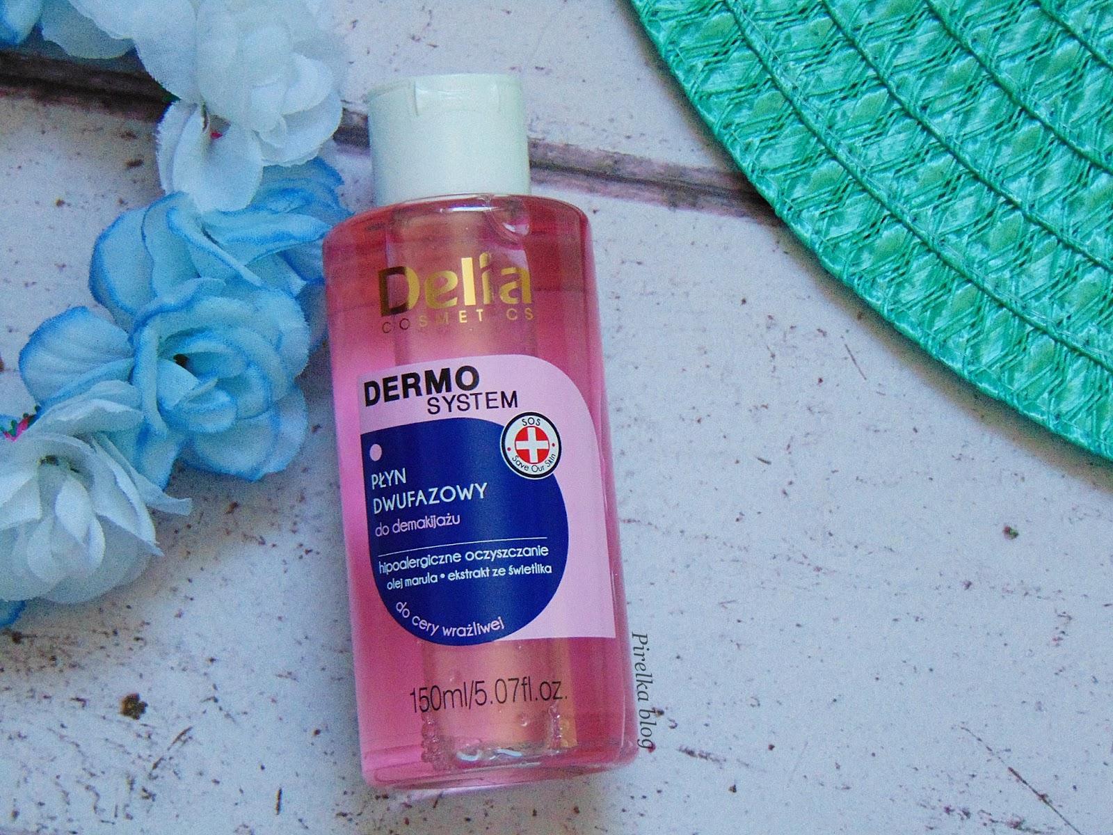 Delia, Dermo System- Płyn dwufazowy do demakijażu
