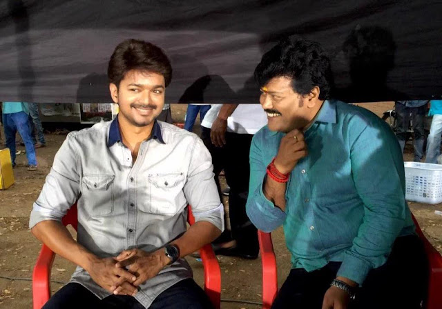 bairavaa movie working stills