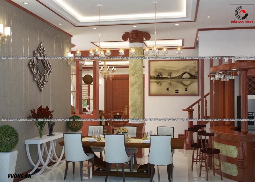Mẫu thiết kế biệt thự nhà vườn 1 tầng đẹp hiện đại dt 150m2 Phong-bep-2