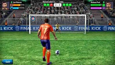 Final kick: Online football MOD APK Unlimited Money Coins Terbaru