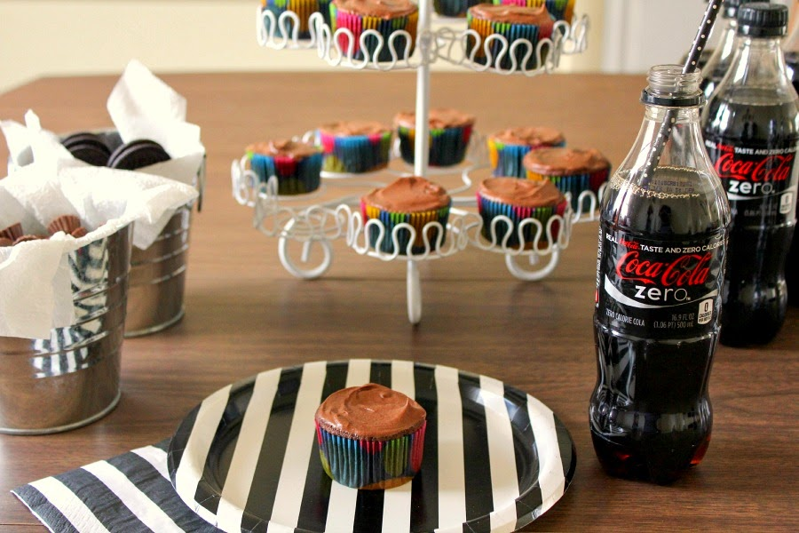 Chocolate Cola Cupcakes | The Chef Next Door