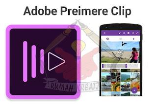 Tampilan Adobe Preimere Clip
