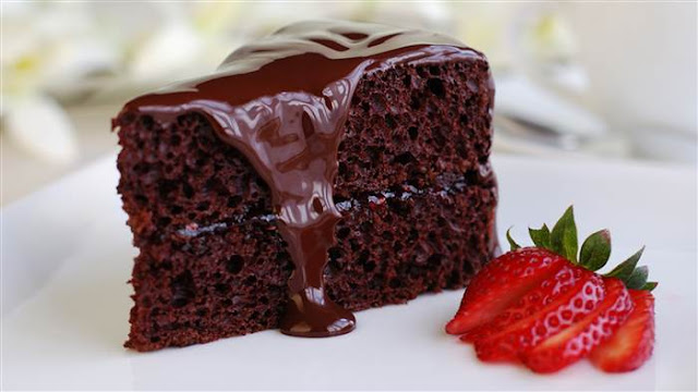 chocolate cake, health