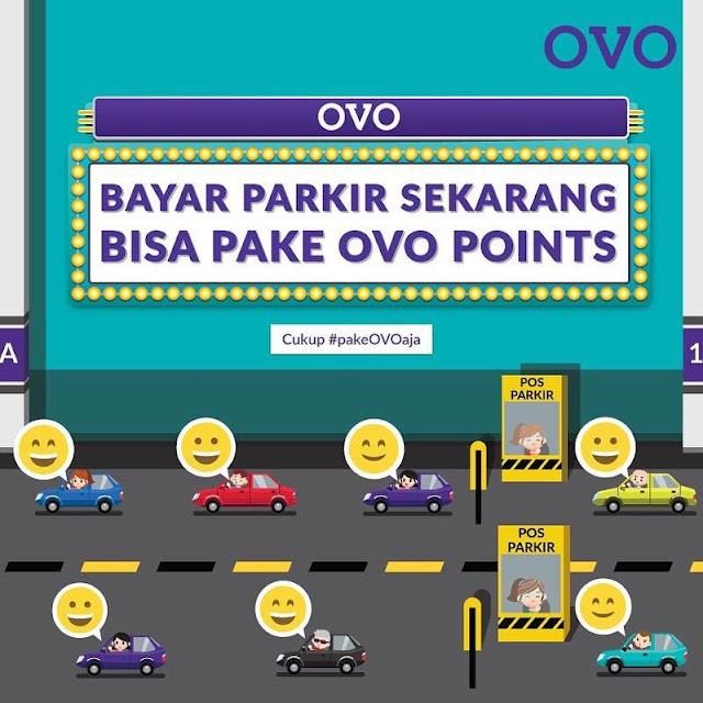 #OVO - #Promo Bayar Parkir Bisa Pakai OVO POINT & Tiap Hari Bisa Nge-Mall