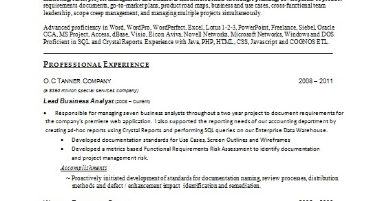 financial analyst resume latest template in word format free download