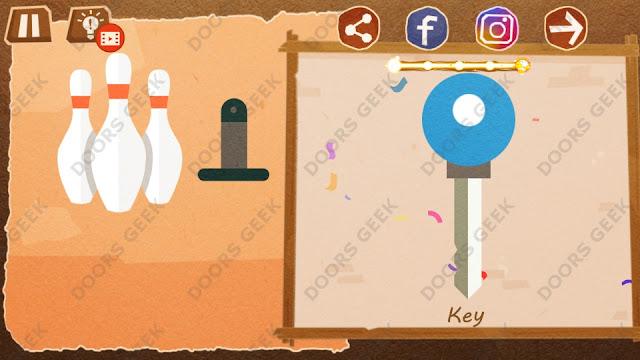 Chigiri: Paper Puzzle Novice Level 11 (Key) Solution, Walkthrough, Cheats