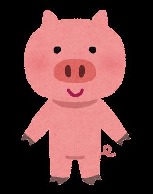 豚のキャラクター