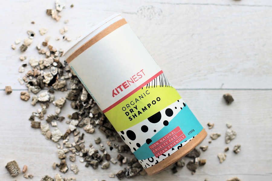 KiteNest Organic Dry Shampoo for Dark Hair Tones