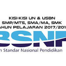 Kisi-Kisi Soal UN dan USBN 2018 SMP SMA SMK Lengkap