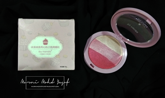 blusher by nanda
